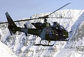 4 Regiment Army Air Corp Gazelle Helicopter MOD 45146026.jpg