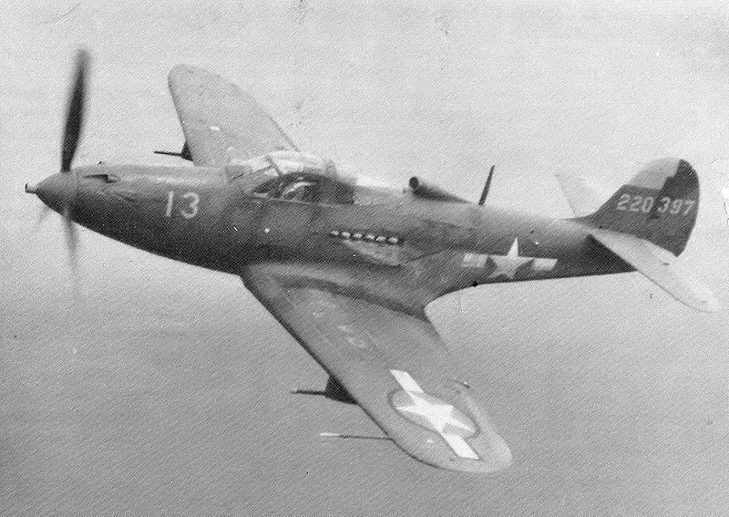 Bell P 39q Airacobra Plane Dave