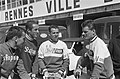 51ste Tour de France 1964. Jo de Haan en Henk Nijdam van de Televizierploeg in, Bestanddeelnr 916-5799.jpg