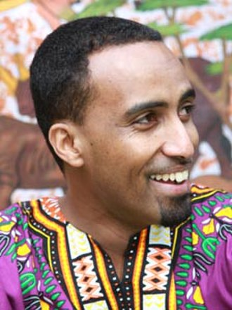 Somalis in the United Kingdom - Popular Somali singer Aar Maanta.