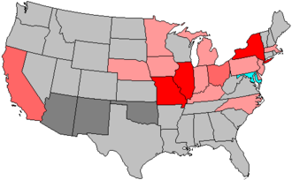 United States House of Representatives elections, 1904 - Image: 59 us house changes