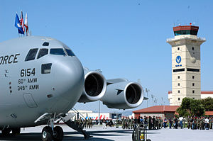 60th Air Mobility Wing - Image: 60th Air Mobility Wing Boeing C 17A Globemaster III 06 6164 2