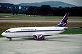 62bv - Aeroflot Boeing 737-4M0; VP-BAO@ZRH;29.06.1999 (4974473508).jpg