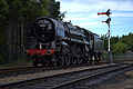 70013 'Oliver Cromwell' at Loughborough GCR (9056422534).jpg
