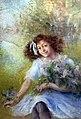 81 - Jeune fille au bouquet - Luce Boyal - Musée du Pays rabastinois - inv.1989.1.5.jpg