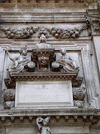 8207 - Venezia - Heinrich Meyring, Cenotafio di Girolamo Fini (+1685) - San Moisè - Foto Giovanni Dall'Orto, 12-Aug-2007.jpg