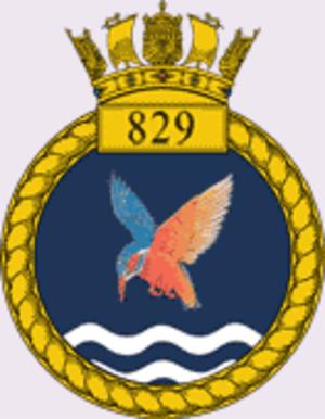 829 Naval Air Squadron - Image: 829 Naval Air Sqn RN crest