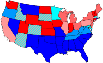 United States House of Representatives elections, 1956 - Image: 85 us house membership