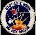 874th Aircraft Control and Warning Squadron - Emblem.png