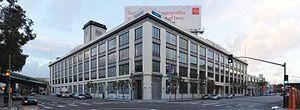 Airbnb - Airbnb North American headquarters at 888 Brannan St, San Francisco, CA.