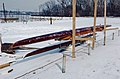 88a033 wooden rowing shells at Louisville Boat Harbor (9380491898).jpg