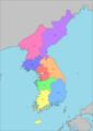 8 Provinces of Korea.png