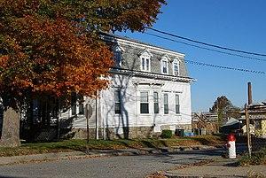 Ariadne J. and Mary A. Borden House - Image: 92 Globe FR