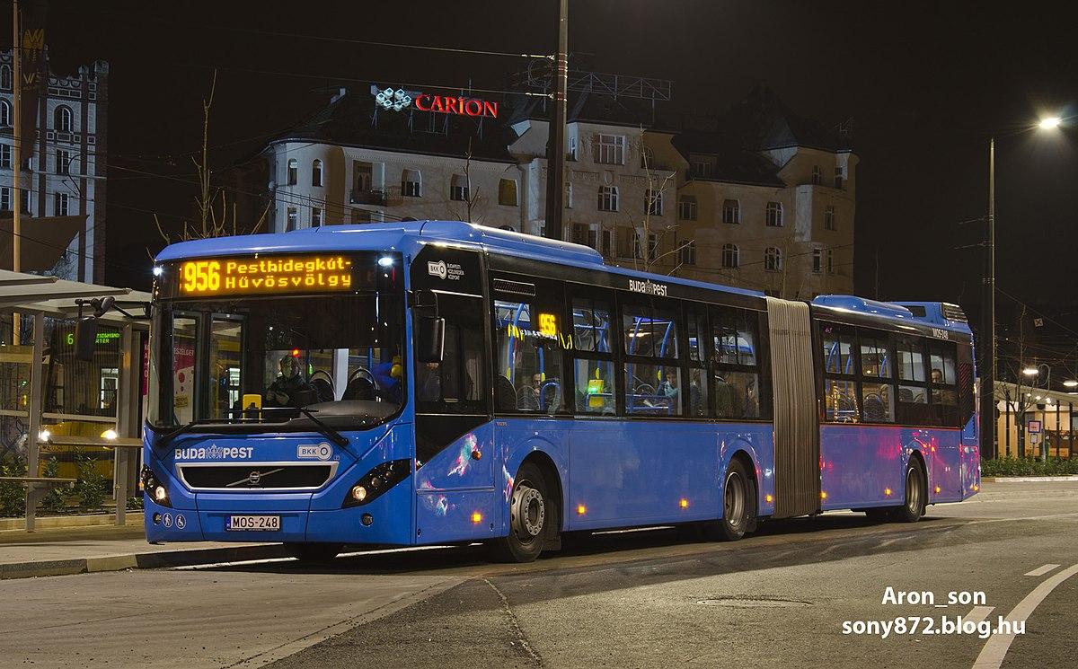 Budapest Ejszakai Autobuszvonal Halozata Wikipedia