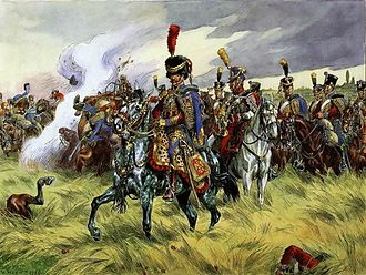 9th Hussar Regiment - French 9th hussars