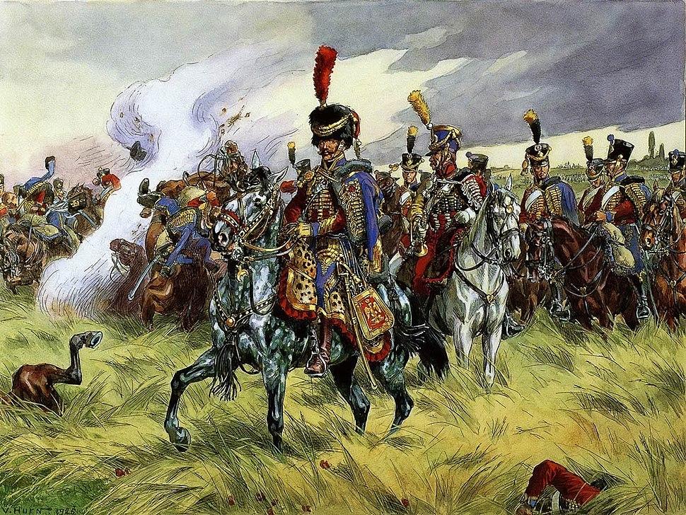 9e Hussards, par Victor Huen