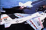 A-6E of VA-196 on USS Coral Sea (CV-43) c1980.jpg