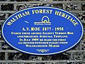 A.V. Roe 1877 - 1958 (Waltham Forest Heritage) 1 of 2.jpg