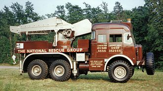 AEC Militant - AEC Militant Mk1 Breakdown Tender No.1456 MR Milly Tant