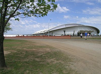 Australian National Equine Livestock Events Centre (AELEC), New England Highway, Tamworth, NSW AELEC.JPG