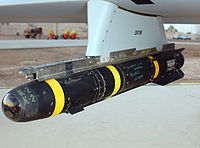AGM-114 Hellfire hung on a Predator drone.JPEG