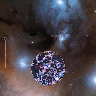 Methyl isocyanate - Image: ALMA detects methyl isocyanate around young Sun like stars