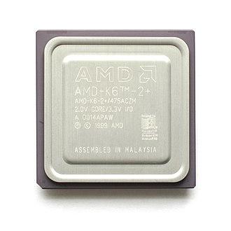 AMD K6-III - Image: AMD K6 2 Plus