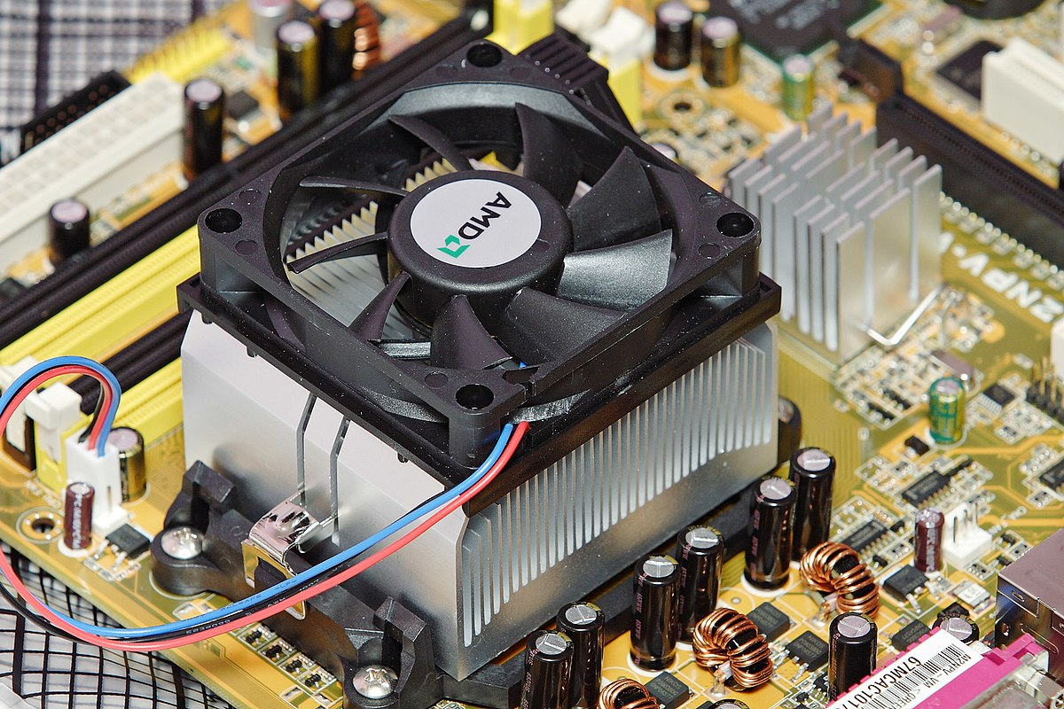Processor Cooling Fan : Computer cooling wikipedia