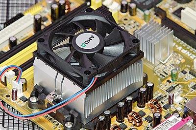 AMD heatsink and fan
