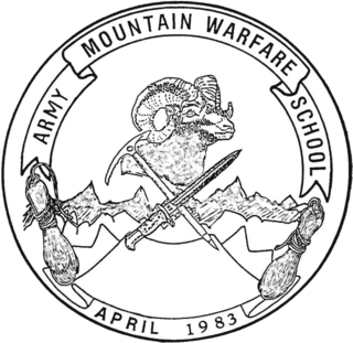 Army Mountain Warfare School United States Army school