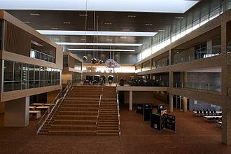 A. P. Møller School - The atrium