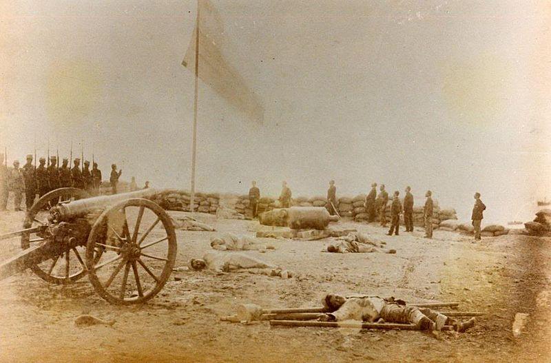 Guerra del Pacífico (1879 - 1883) : Batalla de Arica 800px-ARICA3