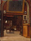 A Gallery in the Old Museum by Enrico Meneghelli, c 1879.jpg