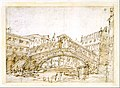 A Magnificent Pavilion by the Lagoon (recto); The Grand Canal, with the Rialto Bridge from the South (verso) MET DT3167.jpg