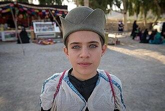 Qashqai people - Image: A Qashqai child