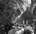 A Szinva patak vízesése. Fortepan 59874.jpg