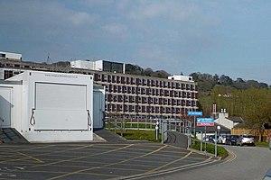 North Devon District Hospital - A Vanguard Mobile Theatre at North Devon District Hospital