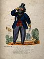 A bearded dandy admiring the ladies through his monocle on ' Wellcome V0015865.jpg