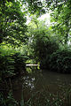 A dammed pond on Pincey Brook, Gibberd Garden Essex England 01.JPG