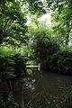 A dammed pond on Pincey Brook, Gibberd Garden Essex England 01.JPG