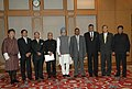 A delegation of Minister for Foreign Affairs from BIMSTEC countries called on the Prime Minister, Dr. Manmohan Singh, in New Delhi on August 29, 2008.jpg
