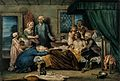 A man recuperating in bed at a receiving-house of the Royal Wellcome V0016537.jpg