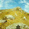 A rock near the monastery Saharna (1980). (26386281535).jpg