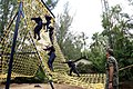 A scene from the Obstacle race at the INA training camp (2015).jpg