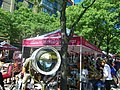 A ship-sized searchlight, for sale outside the North St Lawrence Market, 2014 09 07 (8) (15156013576).jpg