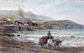 A view on Casamicciola by Pierre Tetar van Elven (1828-1908).jpg