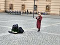 A violin player at Babelplatz square.jpg