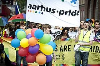 Annual LGBT event in Aarhus, Denmark