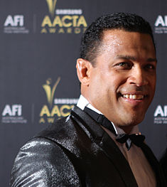 Aaron Fa'aoso at the 2012 AACTA Awards (6795487675).jpg