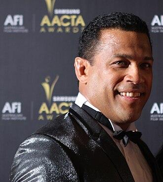 Aaron Fa'aoso - Fa'aoso at the 2012 AACTA Awards